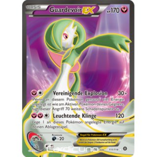 Guardevoir EX 111/114 FULL ART | Gardevoir EX DE