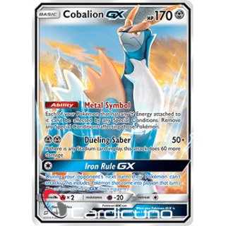 Cobalion GX 106//181Kobalium GX en