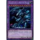 Blauäugiger ultimativer Drache, DE 1A Secret Rare LCKC-DE057