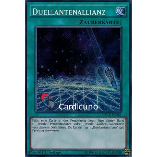 Duellantenallianz, DE 1. Auflage, Secret Rare, Yugioh!