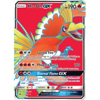 Ho-Oh GX 131/147 FULL ART EN