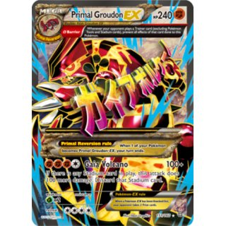 Primal Groudon EX 151/160 FULL ART | Proto Groudon EX EN