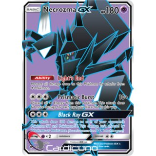 Necrozma GX 134/147 FULL ART EN