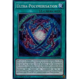 Ultra-Polymerisation, DE 1A Secret Rare MACR-DE052
