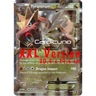 Tyrantrum Ex Xy70 Monargoras Ex En Xxl Oversized Version