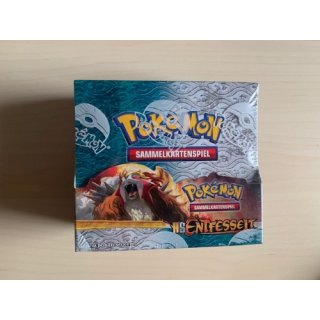 RARITÄT Pokemon Display HS Entfesselt deutsch, OVP! Heart Gold Soul Silver