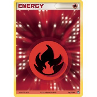 Fire Energy HOLO 104/108 EN (po)
