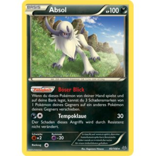 Absol Holo 40/108