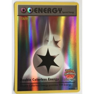 Double Colorless Energy INTERNATIONAL NORTH AMERICA STAFF  90/108