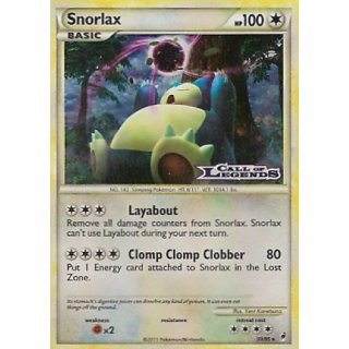 Snorlax 33/95 Relase Promo Call of Legends EN