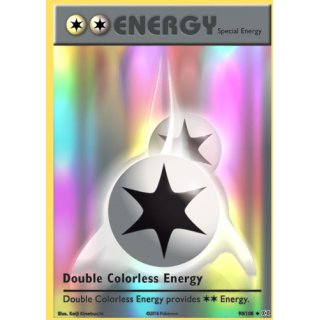 Double Colorless Energy Reverse HOLO 90/108 EN