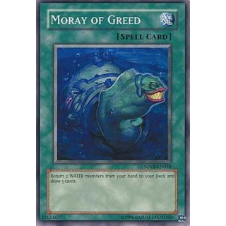 Moray of Greed, GOOD EN, Common, Yugioh!