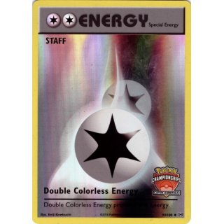 Double Colorless Energy INTERNATIONAL LATIN AMERICA STAFF  90/108