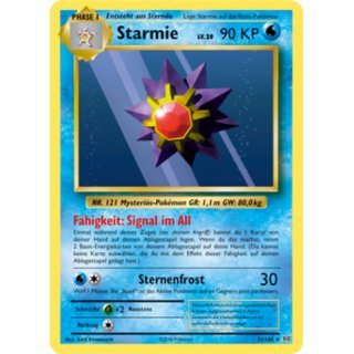 Starmie 31/108 Evolution DE