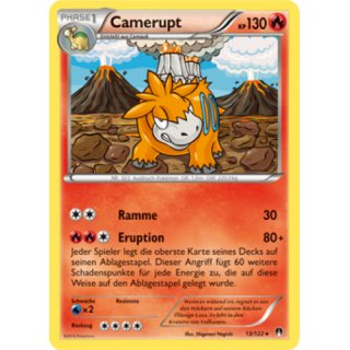 Camerupt Reverse Holo 13/122