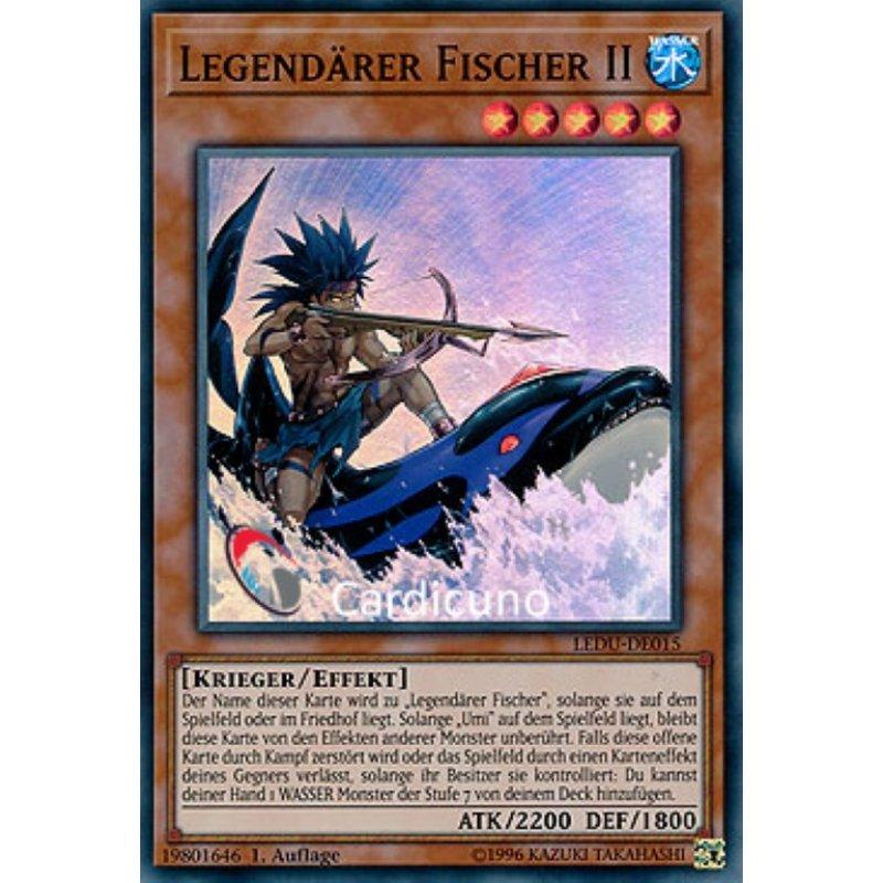 Yugioh Legendärer Fischer Ultra Rare LART-DE020 OVP