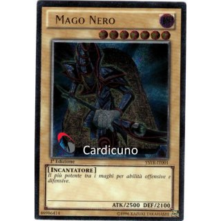 Mago Nero, IT 1. Auflage, Ultimate Rare, Yugioh!