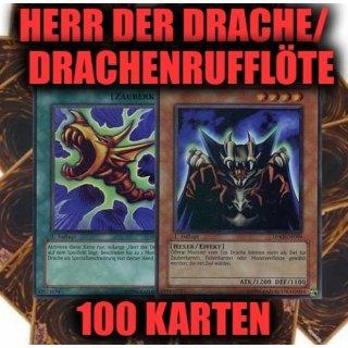 Herr Der Drachen Drachenrufflöte 100 Karten Sammlung Yugioh Sparangebot